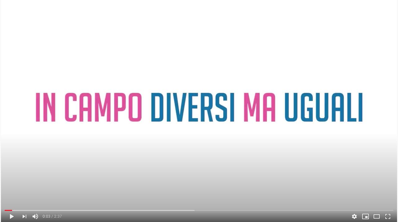 """Webinar """"Parità in Campo"""", i messaggi dei Campioni dello Sport – VIDEO"""