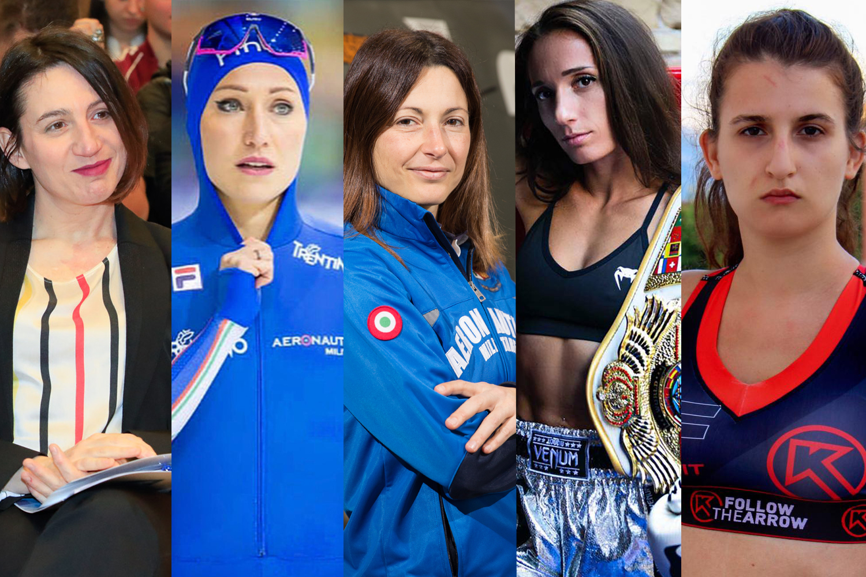 5 atlete protagoniste del webinar del 25 novembre